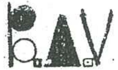 Backgammon Association of Victoria Logo (circa: ~1978)