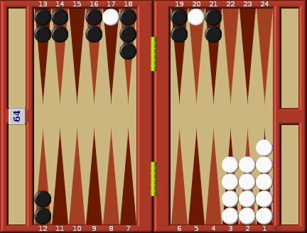 Backgammon Rules Board Illustration